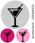 cocktail | Shutterstock .eps vector #134689322
