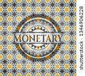 monetary arabic badge... | Shutterstock .eps vector #1346906228