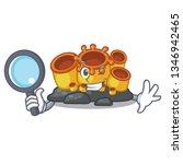detective orange sponge coral...   Shutterstock .eps vector #1346942465