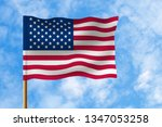 flag of united states of... | Shutterstock . vector #1347053258