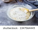 recipe step by step. homemade... | Shutterstock . vector #1347064445