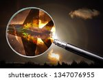 investigation of the causes of...   Shutterstock . vector #1347076955