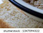 bread from flour of the highest ... | Shutterstock . vector #1347094322