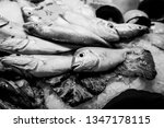 fresh fish at a fishmonger | Shutterstock . vector #1347178115