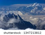 edge of the himalayas   view... | Shutterstock . vector #1347213812