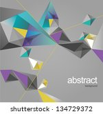 abstract background | Shutterstock .eps vector #134729372