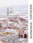 Winter Roofs Of Ledebursky...