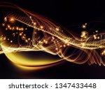 digital dreams series. visually ...   Shutterstock . vector #1347433448