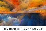 dream land series. graphic... | Shutterstock . vector #1347435875