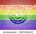 unusual lgbt colors emblem  | Shutterstock .eps vector #1347442652