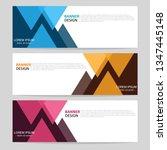 vector abstract design web... | Shutterstock .eps vector #1347445148