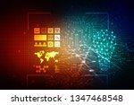 bulb future technology ... | Shutterstock . vector #1347468548