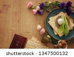 pesah celebration concept ... | Shutterstock . vector #1347500132