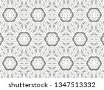 ornament with elements of black ... | Shutterstock . vector #1347513332