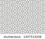 ornament with elements of black ... | Shutterstock . vector #1347513338