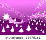 shooting stars background... | Shutterstock . vector #13475161