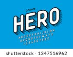comics style font design ... | Shutterstock .eps vector #1347516962