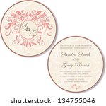 vintage round  double sided...