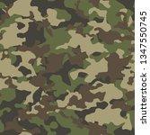 amouflage seamless pattern.... | Shutterstock .eps vector #1347550745