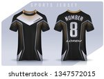 t shirt sport design template ... | Shutterstock .eps vector #1347572015