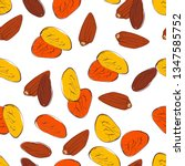seamless pattern of dried... | Shutterstock .eps vector #1347585752