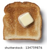 Toast With Melting Butter