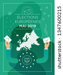 illustration of european... | Shutterstock .eps vector #1347600215