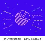 happy style circle infographic  ...   Shutterstock .eps vector #1347633635