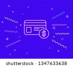 happy style payment   dollar...   Shutterstock .eps vector #1347633638