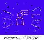 happy style communication ...   Shutterstock .eps vector #1347633698