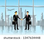 business meeting room   the...   Shutterstock .eps vector #1347634448