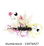 illustration of a decorative... | Shutterstock .eps vector #13476427