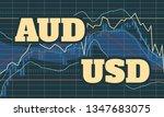 forex candlestick pattern....   Shutterstock .eps vector #1347683075