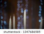 candle bokeh light abstract... | Shutterstock . vector #1347686585