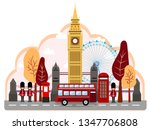 united kingdom england country... | Shutterstock .eps vector #1347706808