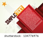 russian layout   print   poster ... | Shutterstock .eps vector #134776976