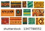 seamless african modern art... | Shutterstock .eps vector #1347788552