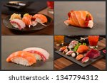 japanese for pic collage | Shutterstock . vector #1347794312