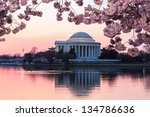 Jefferson Memorial At Dawn By...