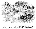 battle of ball bluff is also... | Shutterstock .eps vector #1347940445
