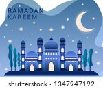 ramadan greeting card template  ...   Shutterstock .eps vector #1347947192