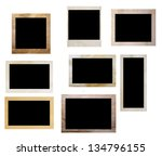 photo frames isolated on white... | Shutterstock . vector #134796155