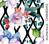 bouquets floral botanical...   Shutterstock . vector #1348083452