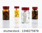 medicines on white background | Shutterstock . vector #1348275878