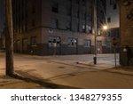 Beautiful Street Scene With...