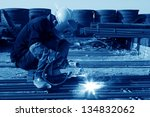 reinforced component at the... | Shutterstock . vector #134832062
