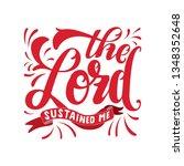 handlettering typography the... | Shutterstock .eps vector #1348352648