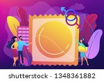 couple prevent sexually... | Shutterstock .eps vector #1348361882
