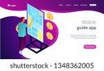 businessman standing in front...   Shutterstock .eps vector #1348362005