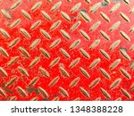 floor surface steel background... | Shutterstock . vector #1348388228
